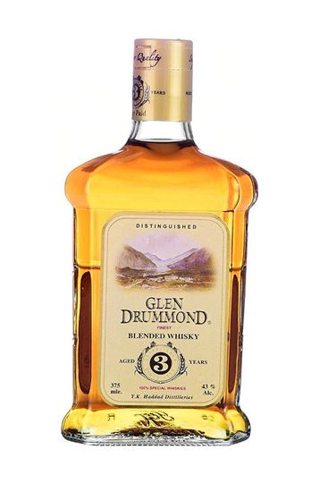 Picture of Glen Drummond Whisky 375 ML.