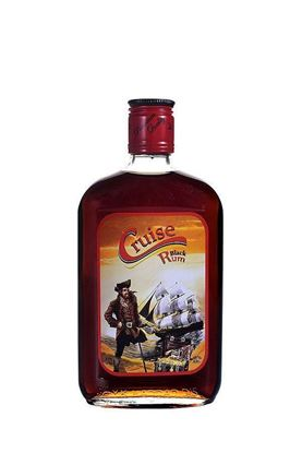 Picture of Cruise Black Rum 375 ML.