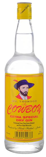 Picture of Cowboy Gin 750 ML.